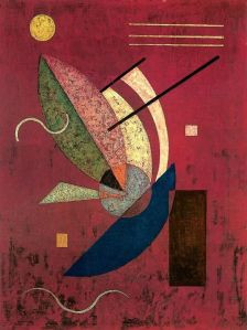 Vasily Kandinsky, Schwarzes Stäbchen, 1928.